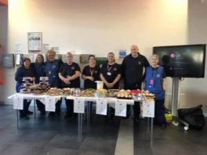 University of Edinburgh Estates team Bake Sale