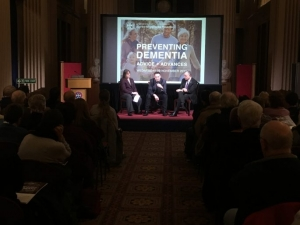 The panel at the Preventing Dementia conference