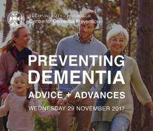 Preventing dementia cover for the conference 29/12/2017